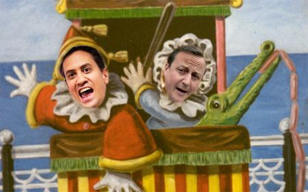 Political housing pantomime