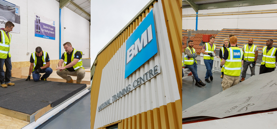BMI pitches up with a new flat roof training facility