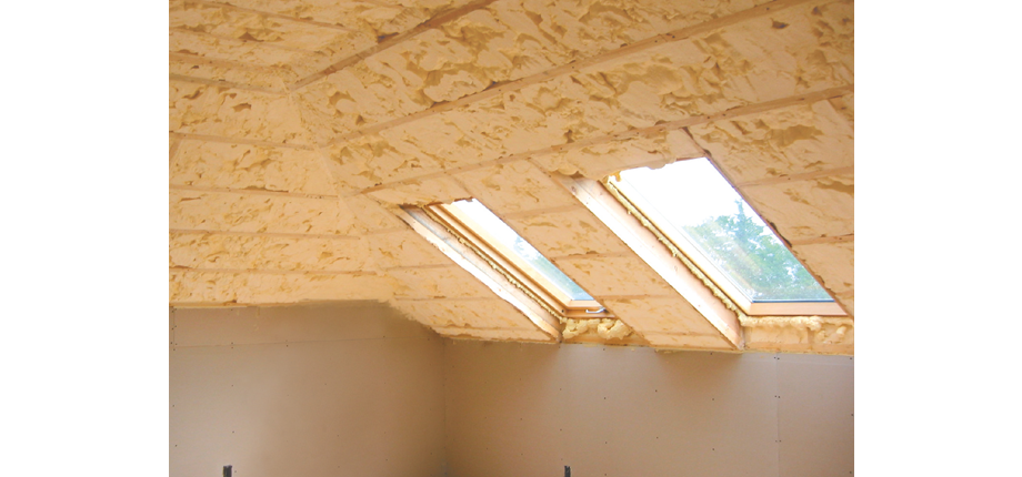 Spray applied insulation –  high performance heat loss mitigation