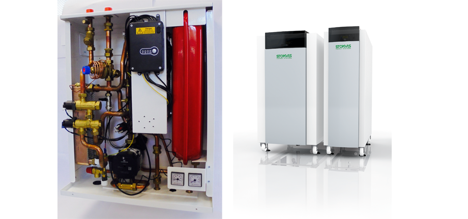 Stokvis EVOLUTION boilers connecting with boom in communal heating