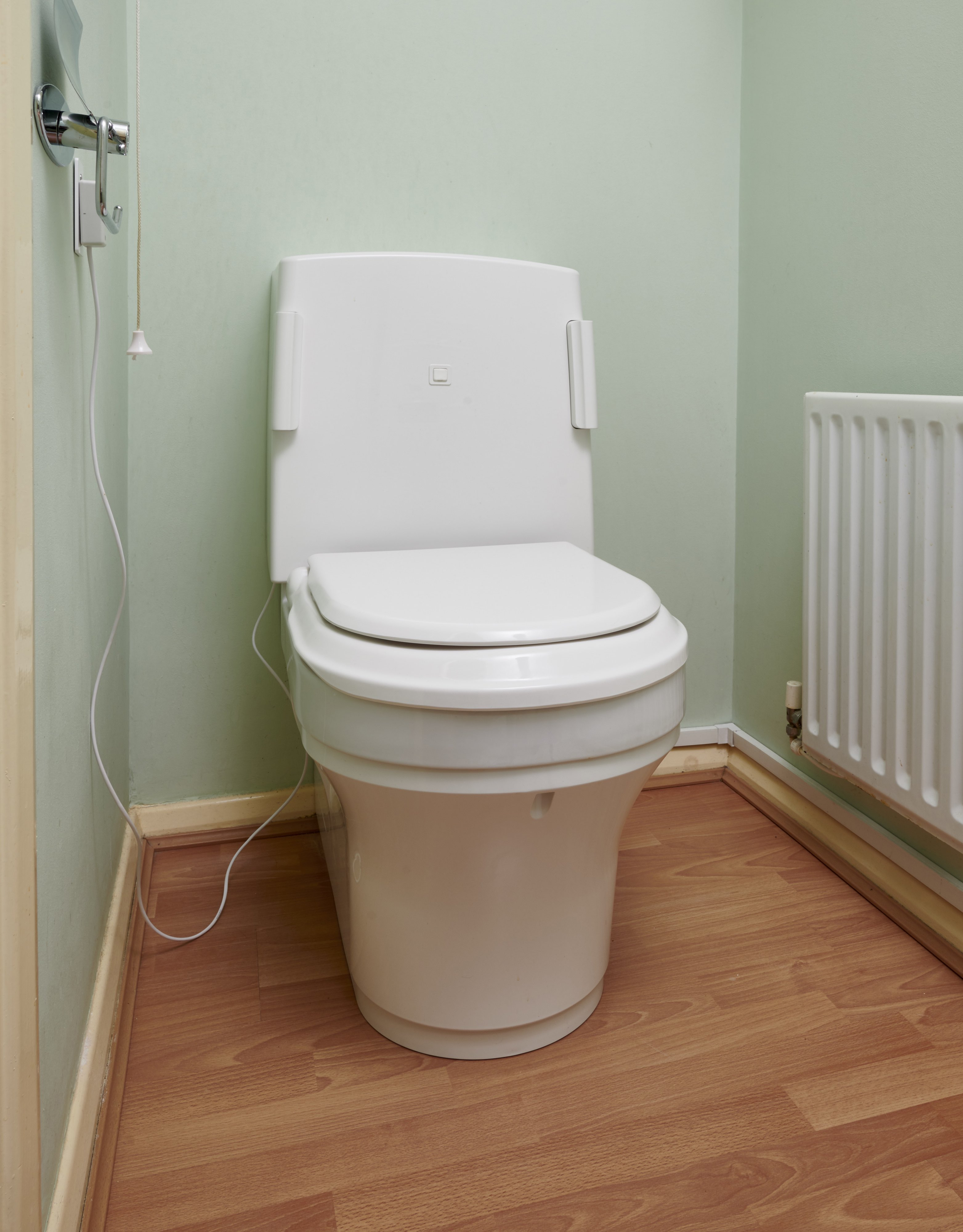 A Closomat accessible toilet