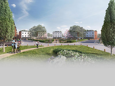 Beauchamp Park in Warwick will be made up of at least 40% affordable housing