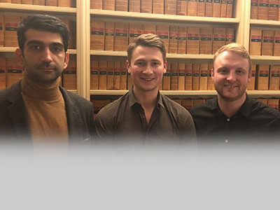 Sigma Capital – new recruits Kiarash, Jack and Alec
