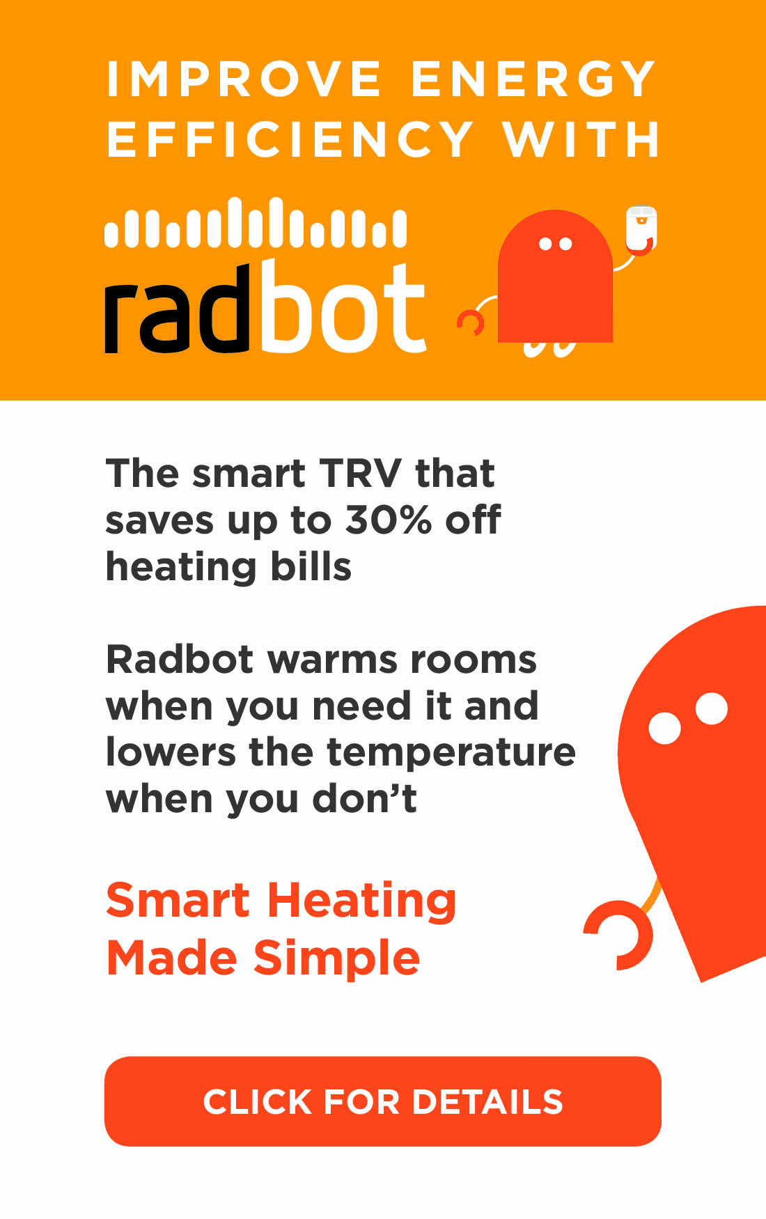 Improve energy efficiency with Radbot