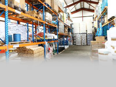 Construction supplier warehouse
