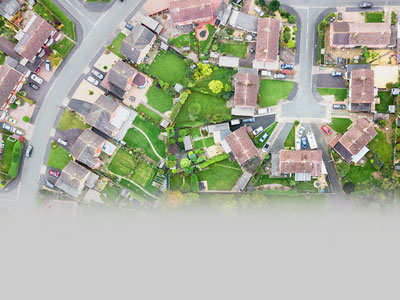 Housing estate - How to fix subsidence without having to temporarily rehome tenants