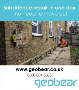 Subsidence repair in one day