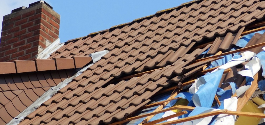 roof damage household disasters