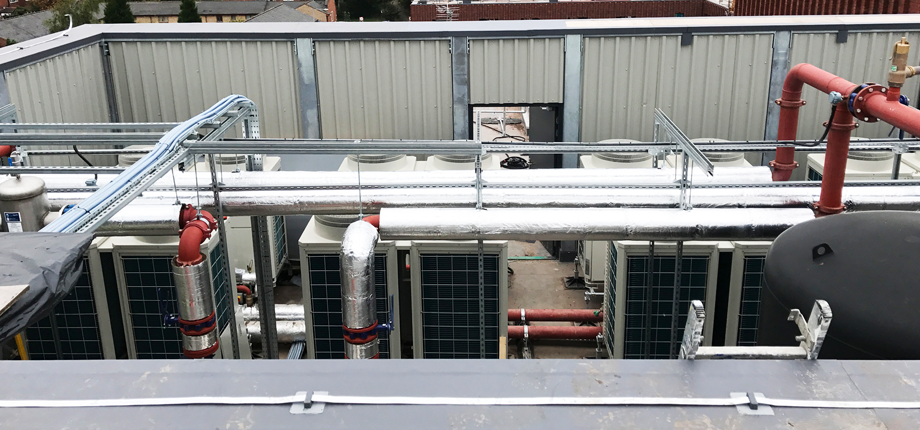 Heating scheme meets environmental and budget targets with Ecodan