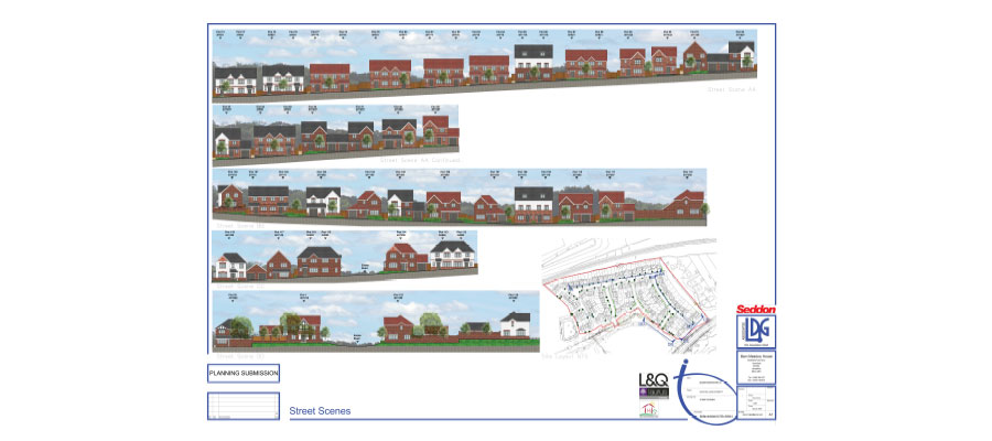 affordable homes in Chorley - plans