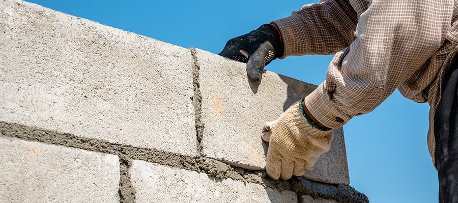 Concrete blocks are being championed by Better Built in Blockwork
