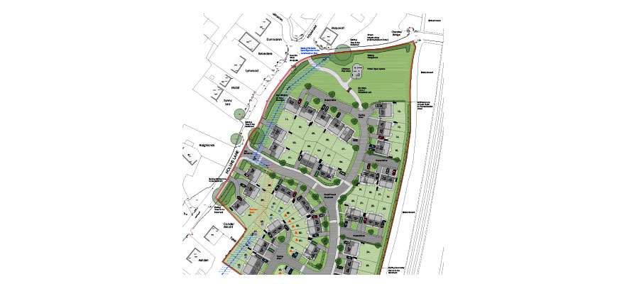 affordable homes in Forton - plans