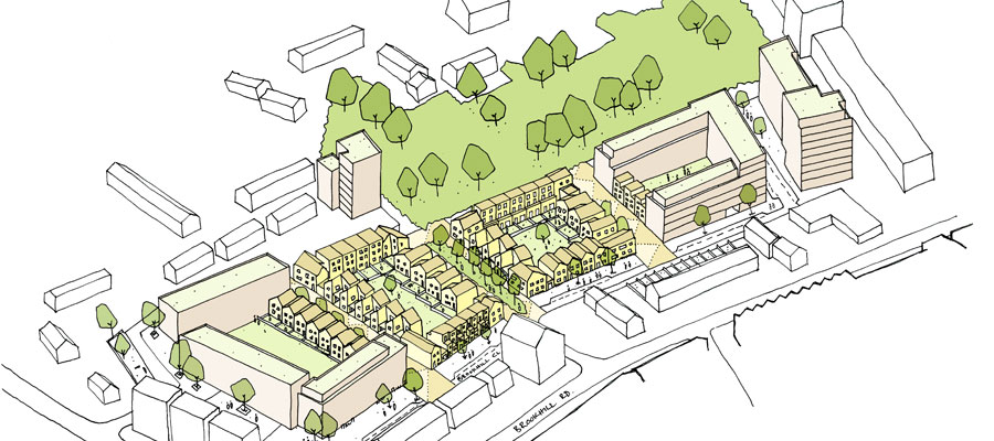 Brookhill Close - the plans for housing regeneration project