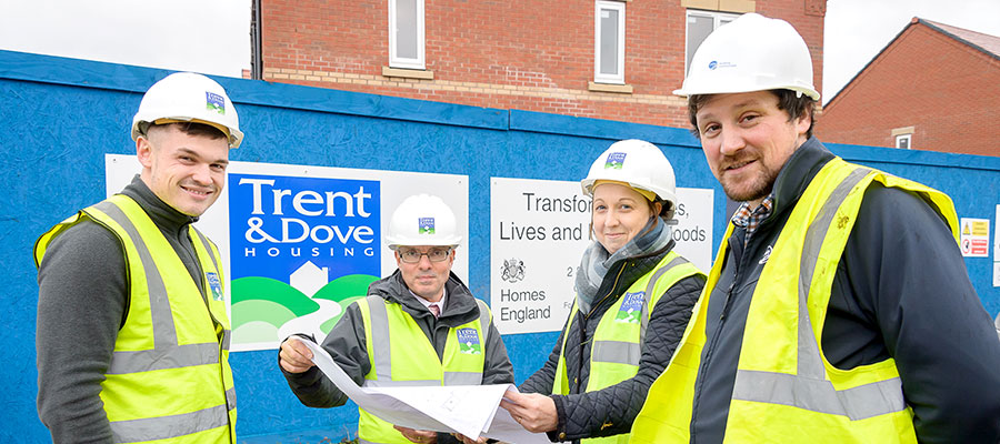 Trent Dove - new affordable housing developments
