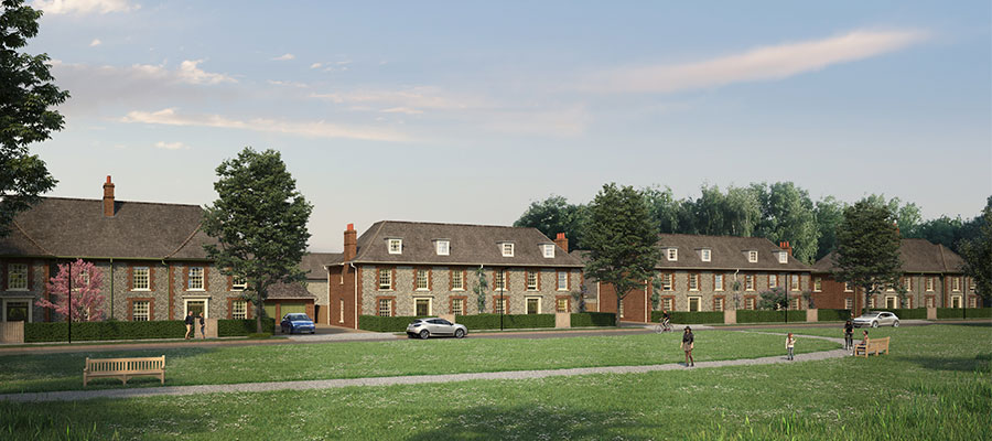 Welborne - planned housing developments