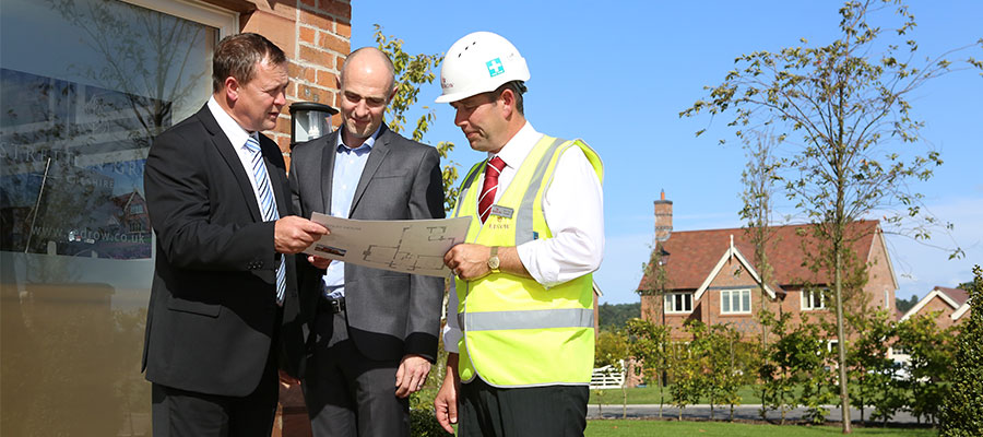 Why trusting the qualified heating engineer is a no brainer - inspection on a housing estate