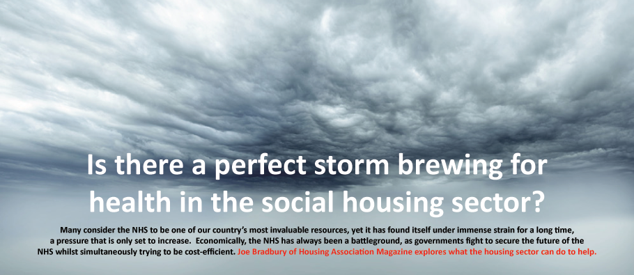 Is there a perfect storm brewing for health in the social housing sector