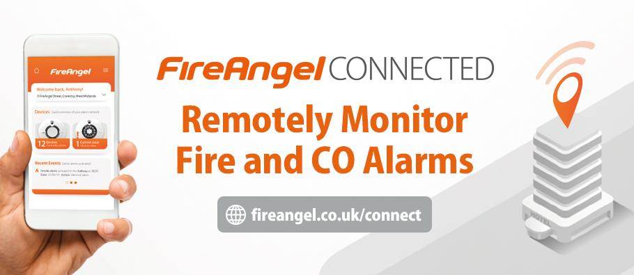 Remotely monitor fire and co alarms
