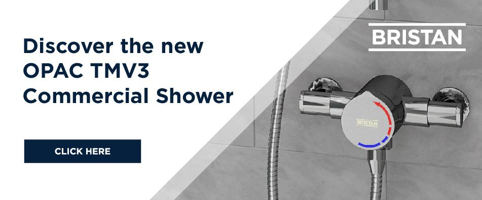 Discover the new OPAC TMV3 Commercial Shower
